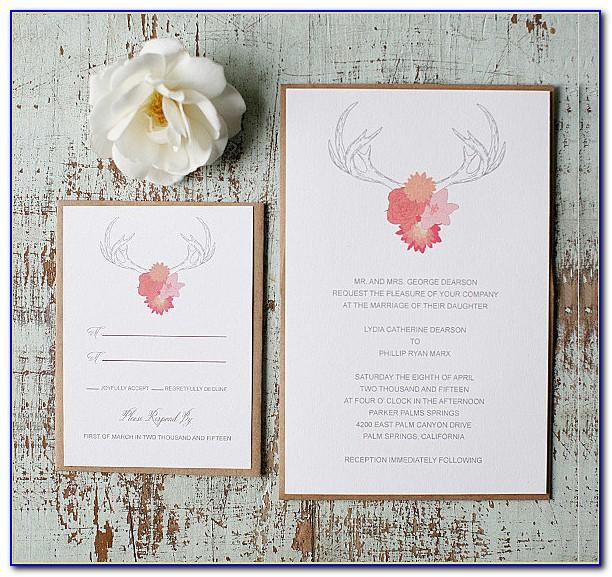 Downloadable Rustic Wedding Invitation Templates