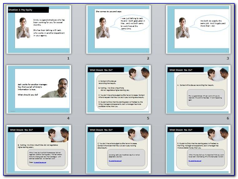 E Learning Storyboard Template Word