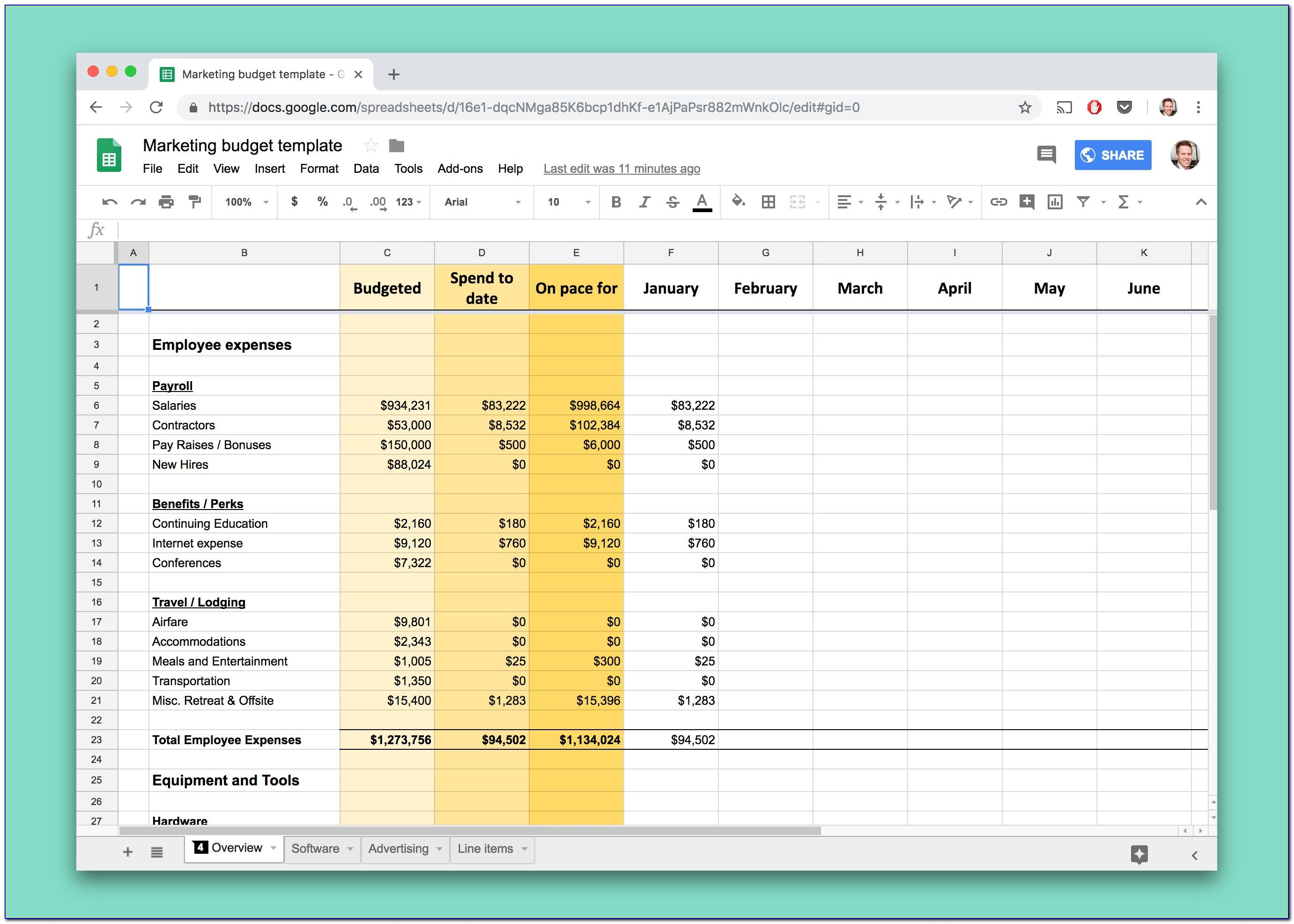 Excel Mileage Log Book