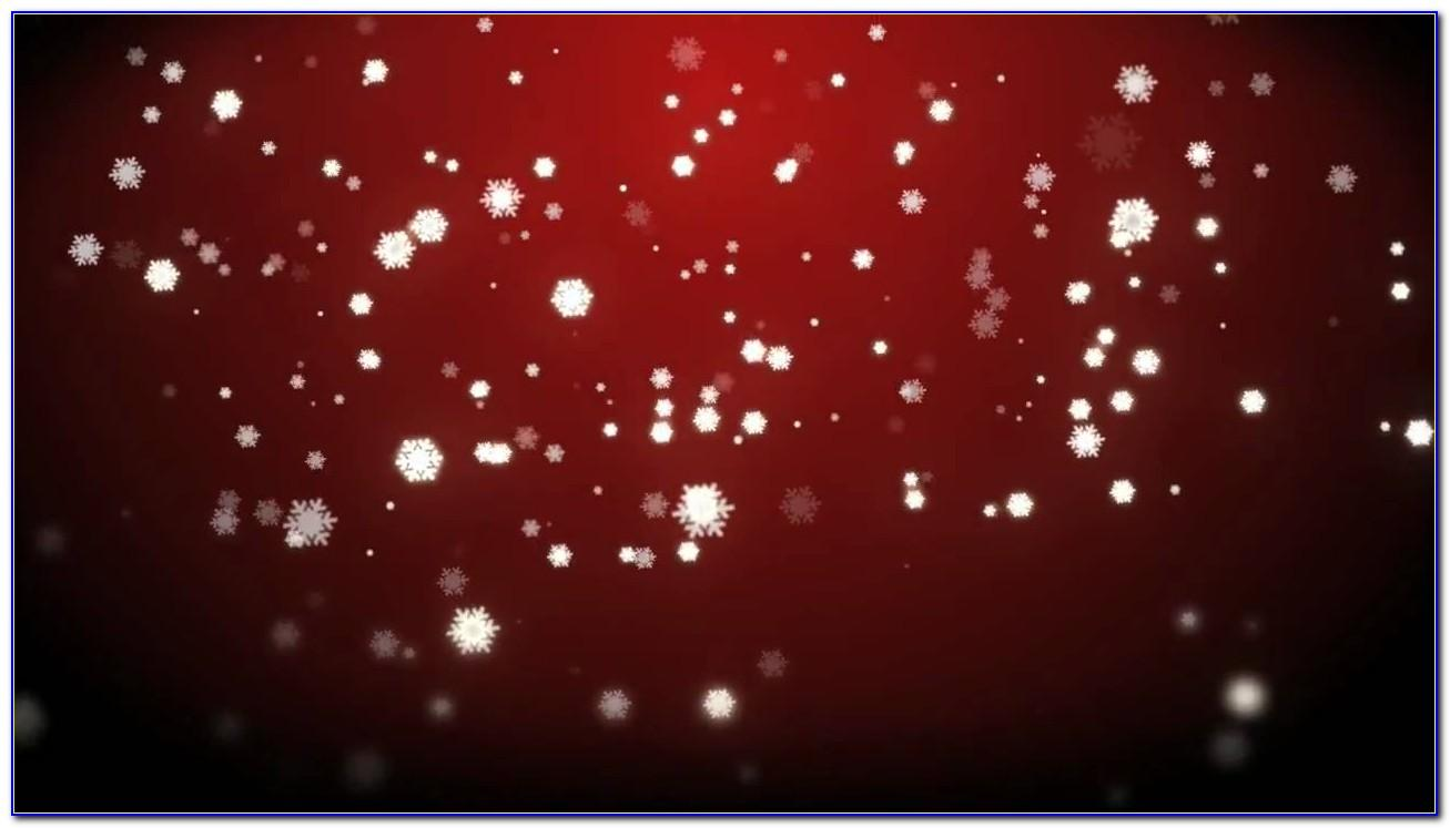 Falling Snow After Effects Template Free