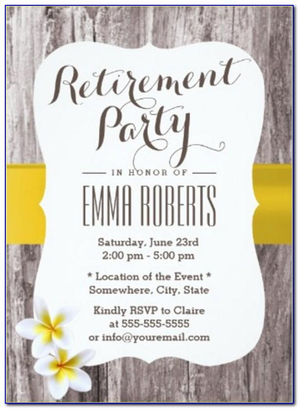 Free Retirement Flyer Template Publisher