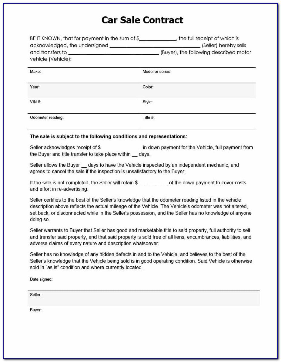 Horse Sale Contract Template Uk