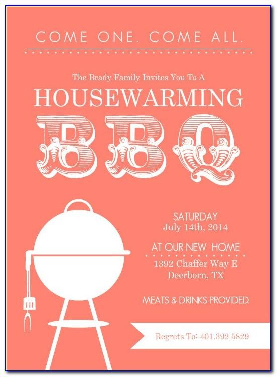 Housewarming Invitation Templates Free