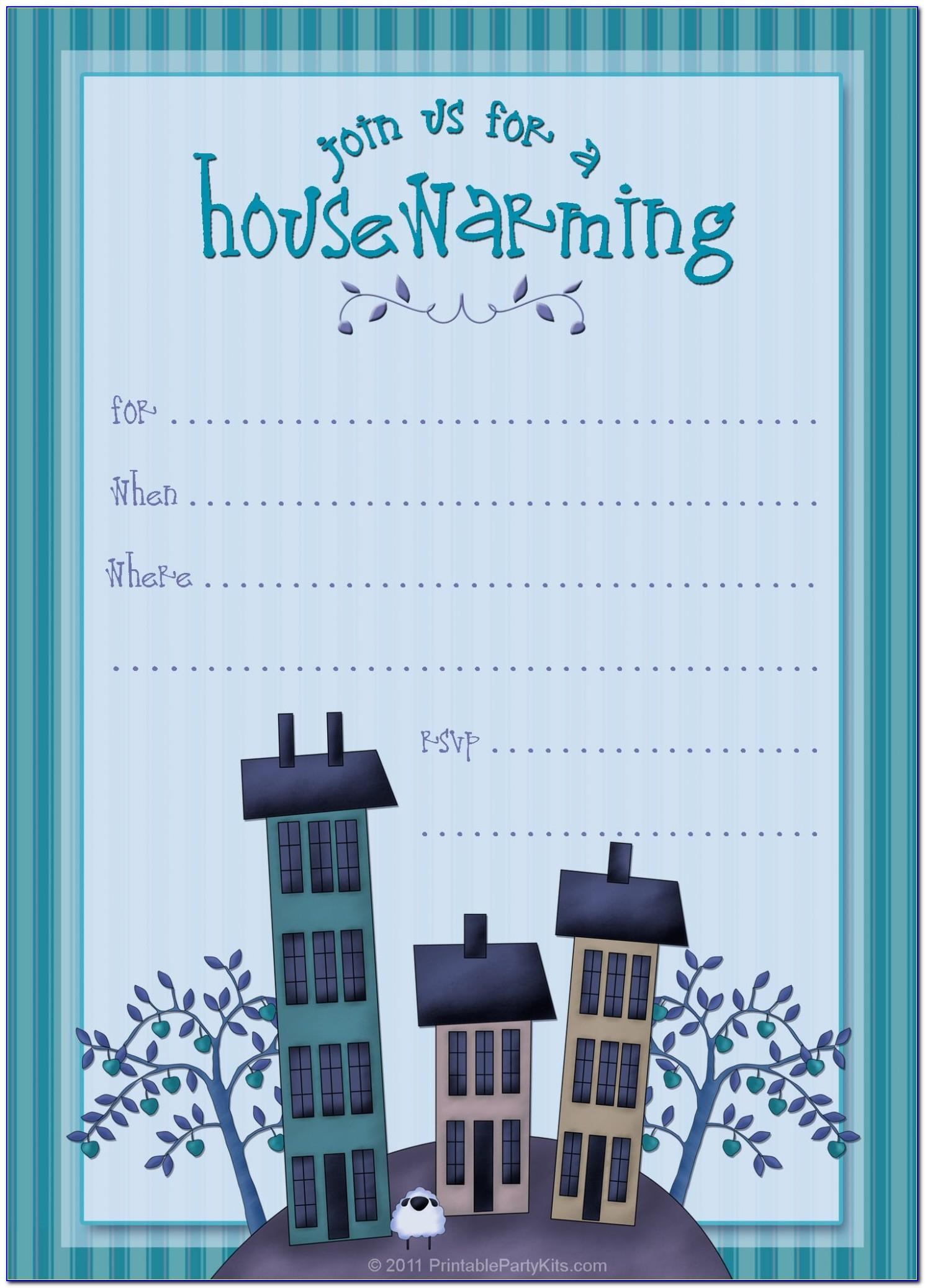 Housewarming Invitation Video Templates Free Download