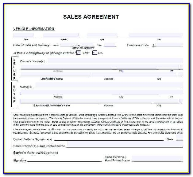 Land Sale Contract Template Uk