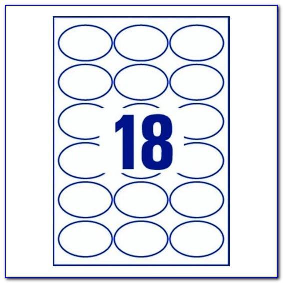 Lyreco Labels 18 Per Sheet Template