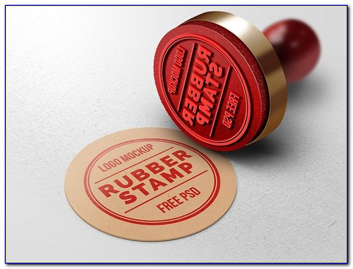 Photoshop Rubber Stamp Effect Template