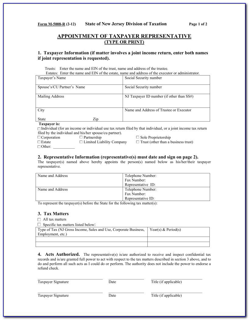Power Of Attorney Form Indiana Sample
