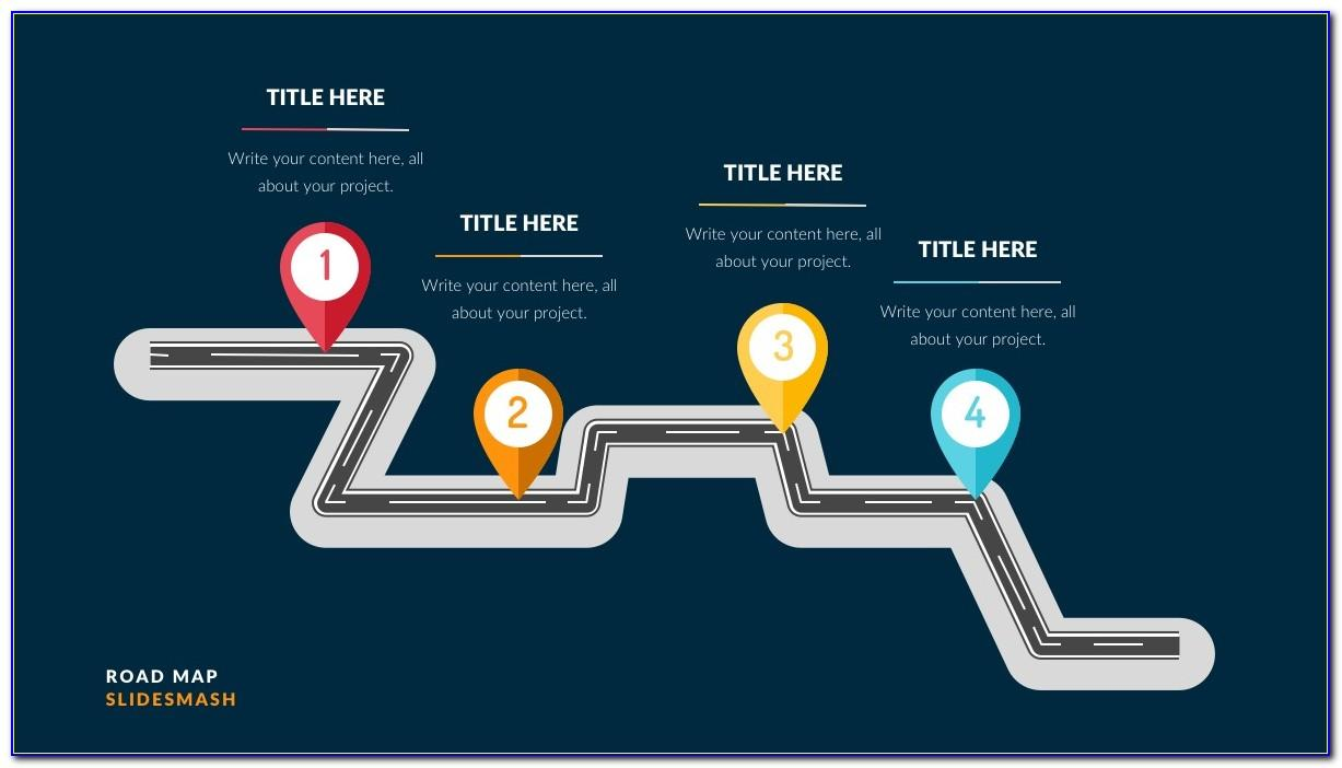 Powerpoint Presentation Roadmap Templates