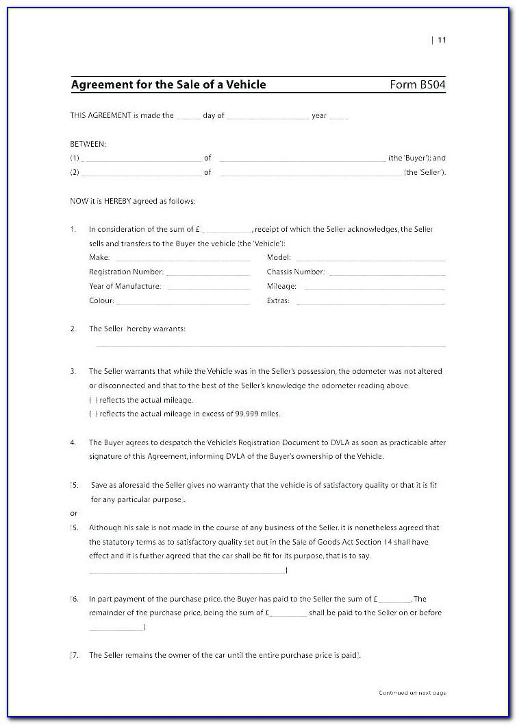 Purchase And Sale Agreement Template For Real Estate