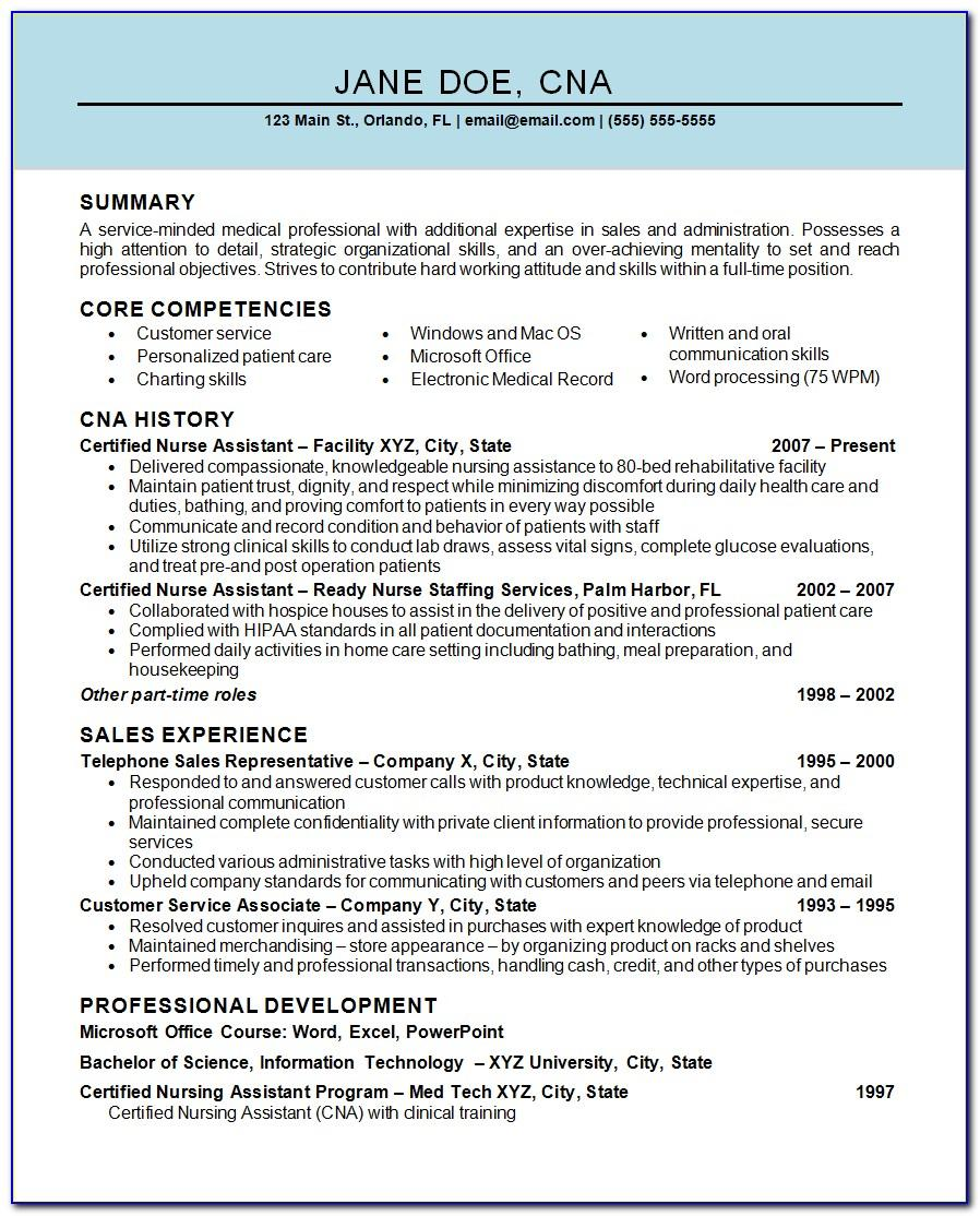 Resume For Student Nurses Template