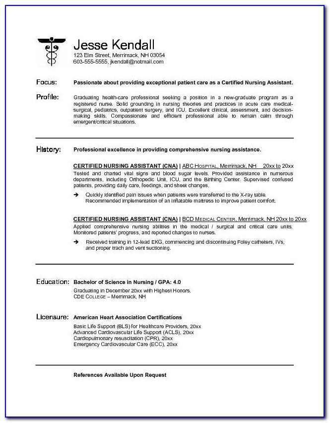 Resume With Picture Template Free Download
