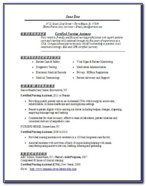 Resume With Picture Template Word