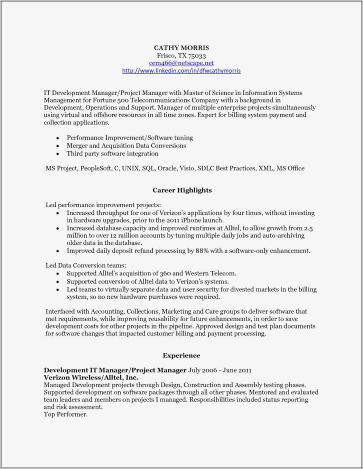 Resume Writers Long Island
