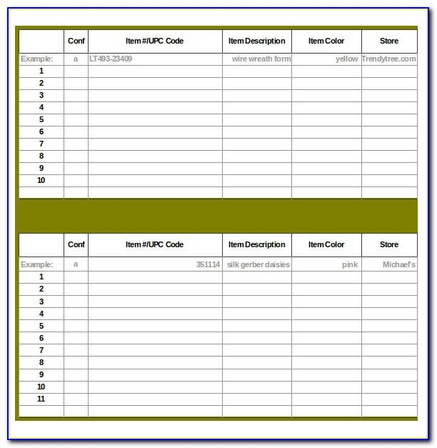 Retail Store Inventory Management Template