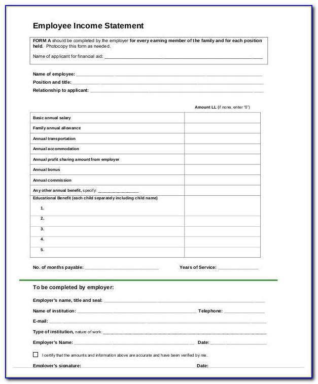 Retained Earnings Statement Sample