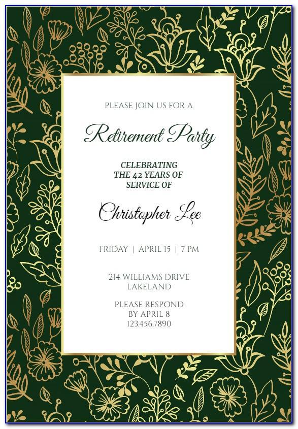 Retirement Ceremony Program Samples
