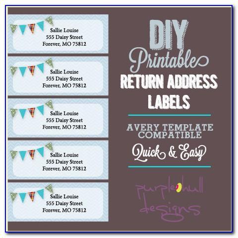 Return Address Label Template Free 30 Per Sheet