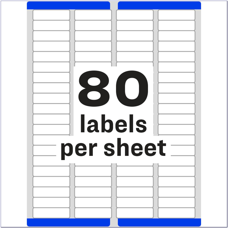 Return Address Labels Template 5160