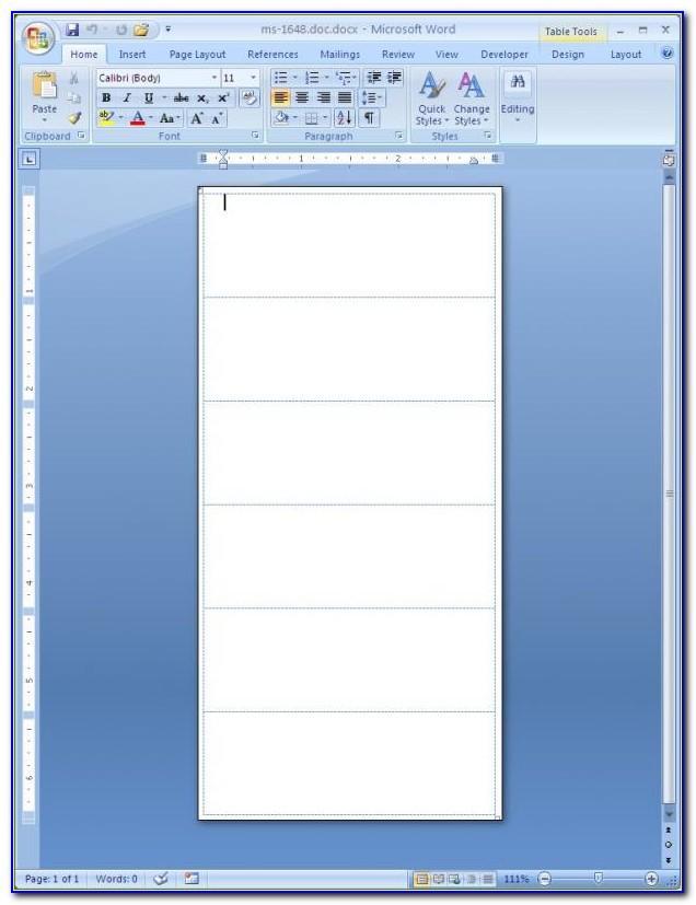 Return Address Labels Template For Mac
