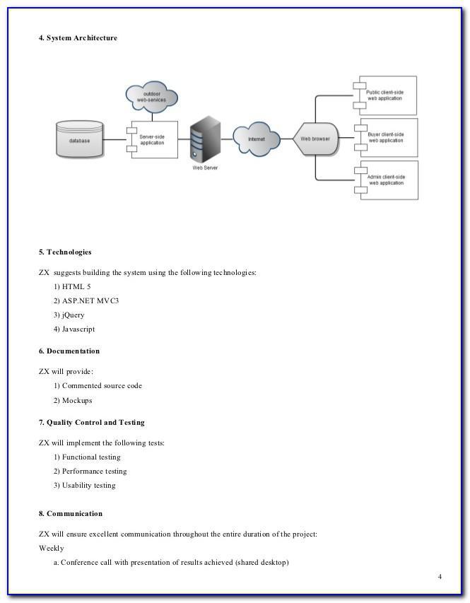 Rfp Evaluation Matrix Example