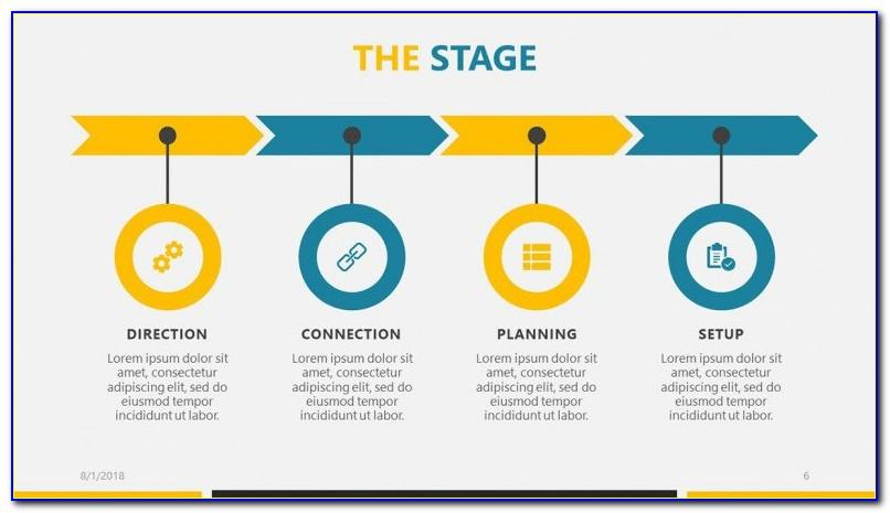 Roadmap Ppt Template Free Download