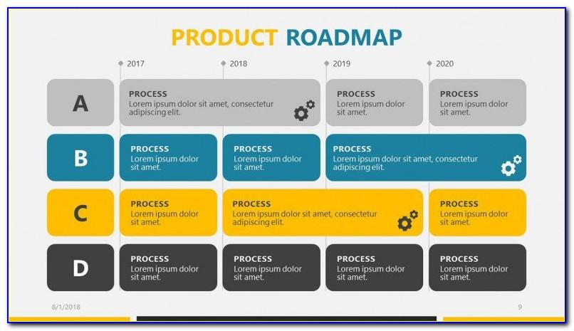 Roadmap Template Ppt Download Free