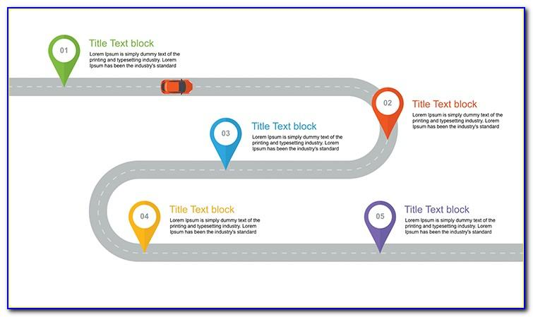 Roadmap Templates For Powerpoint Free