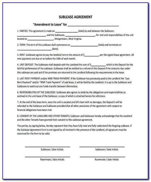 Roommate Eviction Notice Template