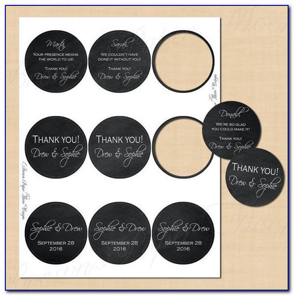 Round Label Template 24 Per Sheet