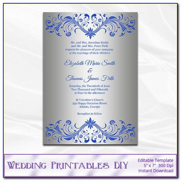 Royal Wedding Invitation Cards Designs