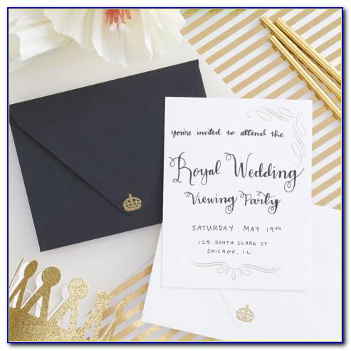 Royal Wedding Invitation Cards Online