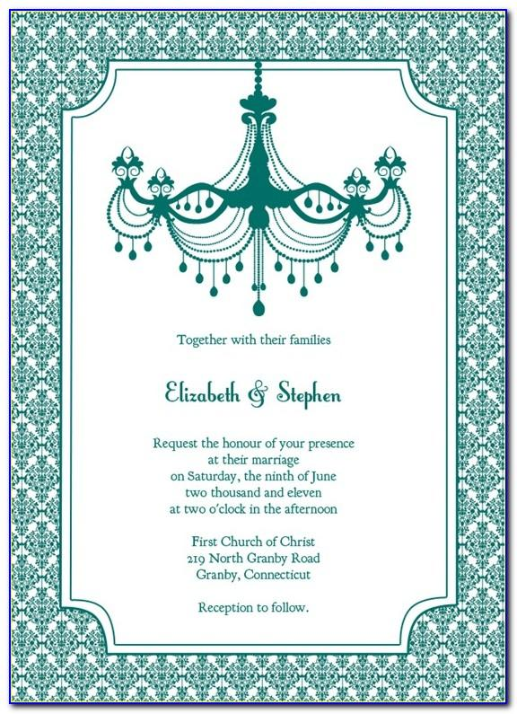Royal Wedding Invitation Cards