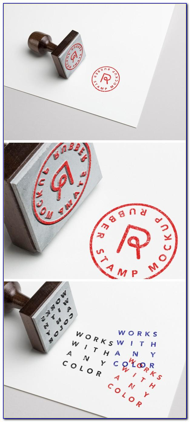 Rubber Stamp Templates Free Psd