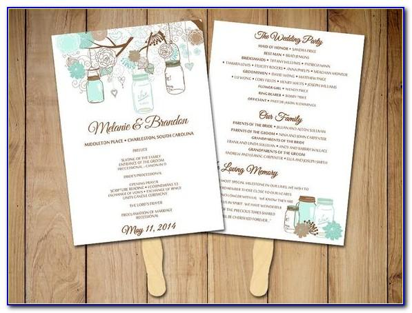 Rustic Wedding Table Numbers Template