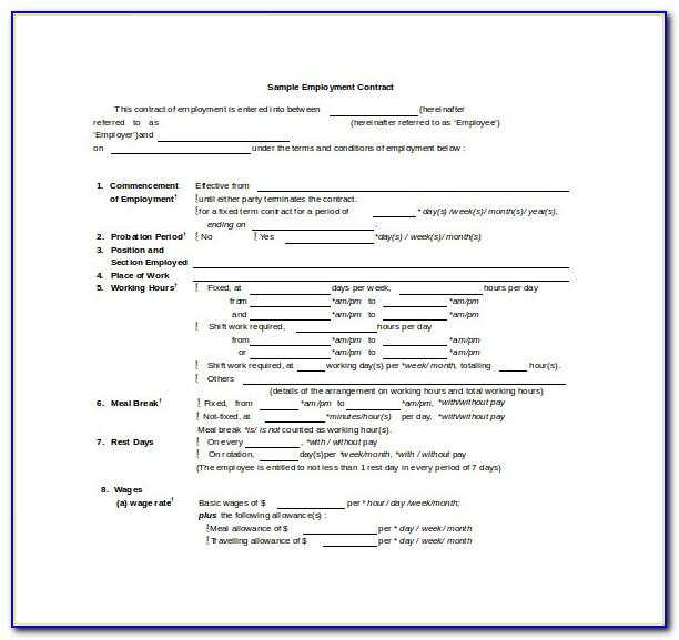 Salary Adjustment Form Template