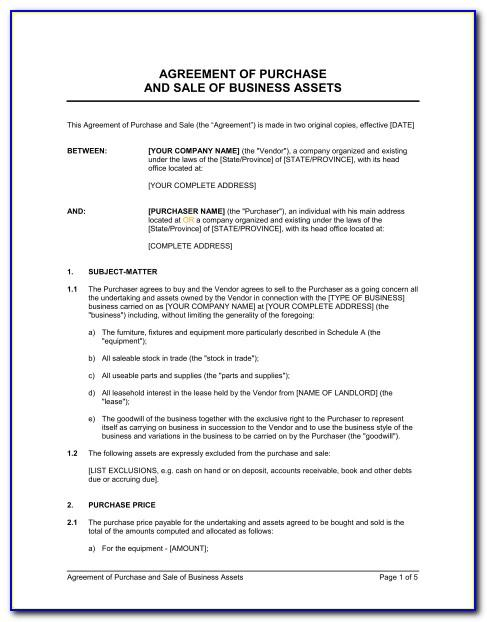 Sale And Purchase Agreement Forms Nz