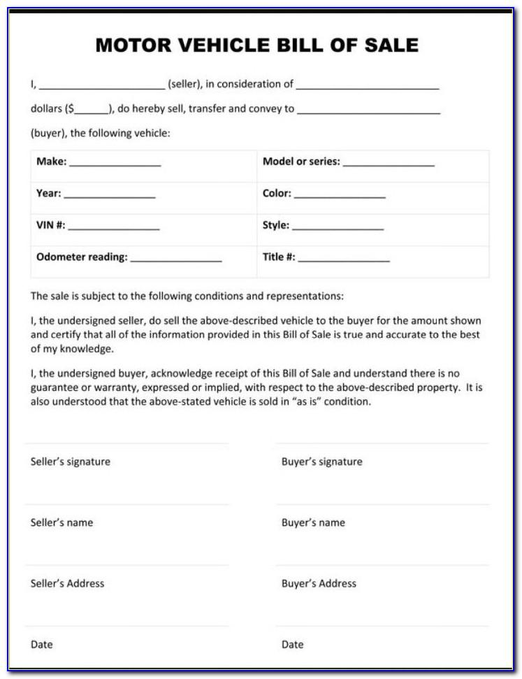 Sales Agreement Template Free Download
