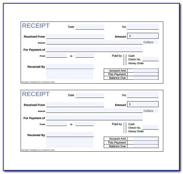 Sales Bill Format Excel