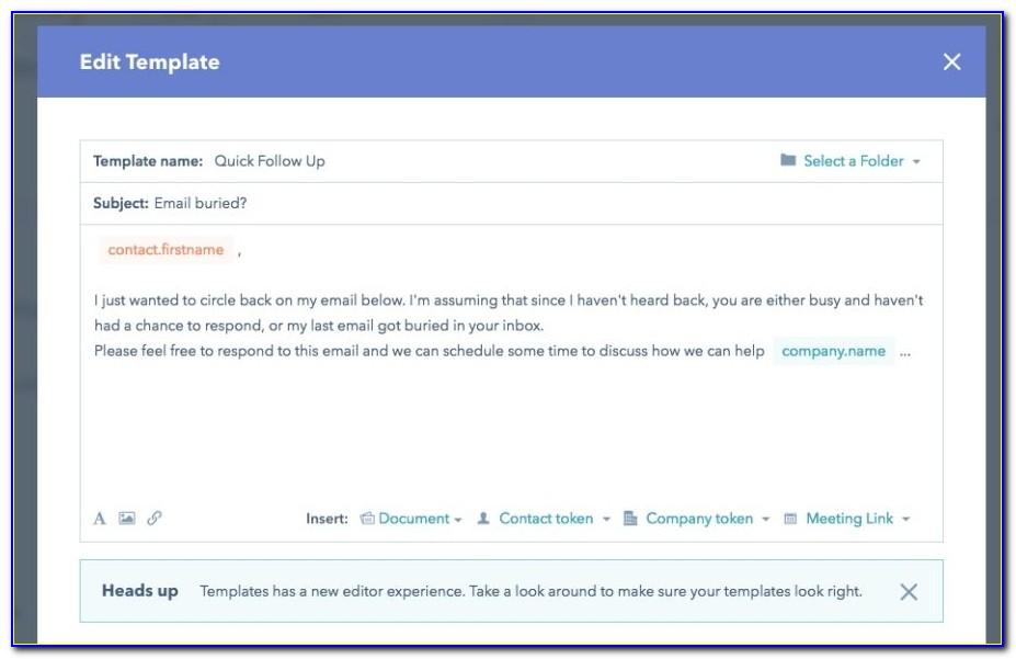 Sales Email Templates Free