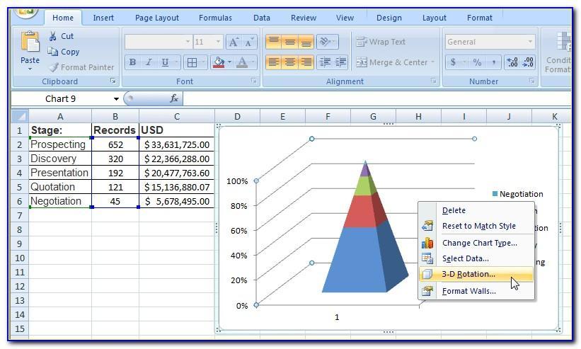 Sales Funnel Template Spreadsheet