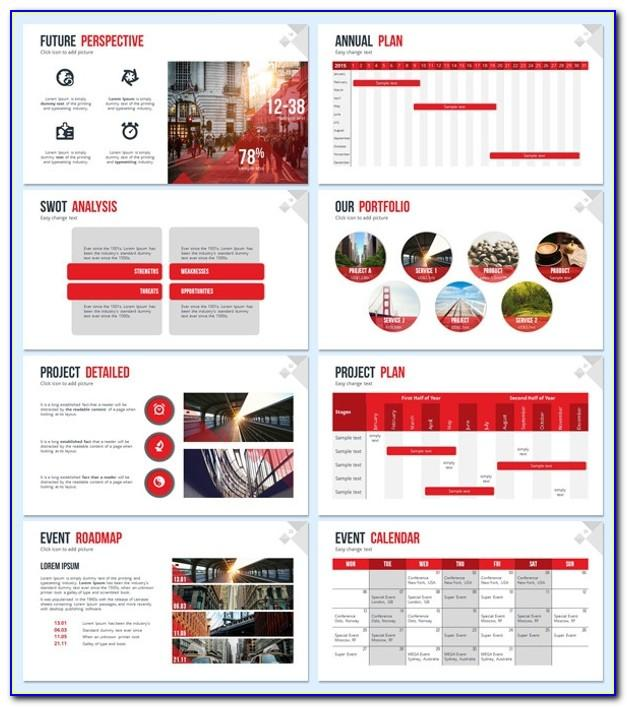 Sales Meeting Presentation Ppt Template
