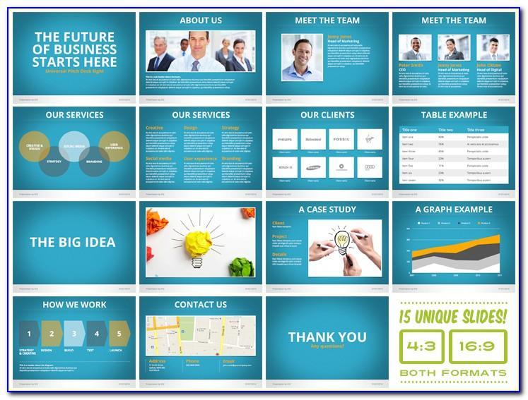 Sales Presentation Template Word