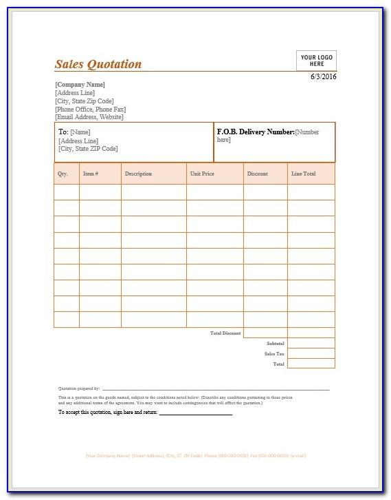 Sales Receipt Template Pdf