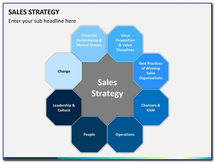 Sales Strategy Powerpoint Template Free