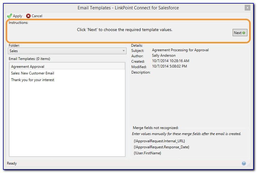 Salesforce Email Template Add Formula