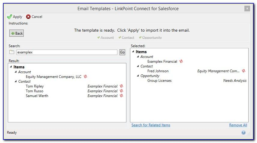 Salesforce Email Template Merge Field Lookup