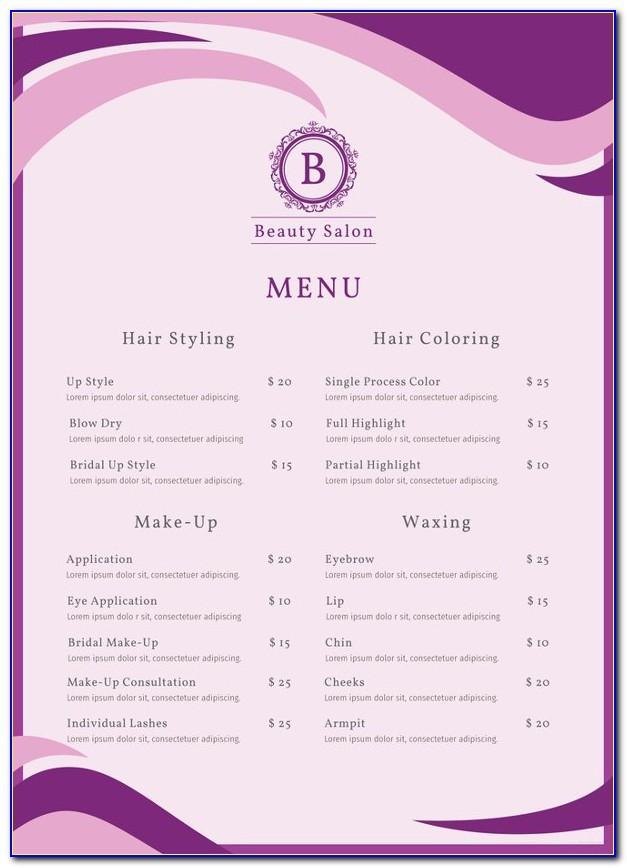 Salon Owner Resume Sample