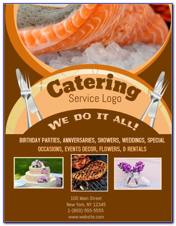 Sample Catering Brochure Templates