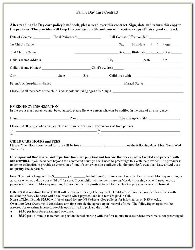 Sample Child Custody Agreement For Married Parents